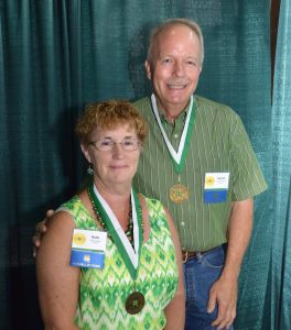 Ruth and Gerry Poppe of Chenoa were inducted into the Illinois 4-H Hall of Fame. (Photo courtesy of University of Illinois Extension)