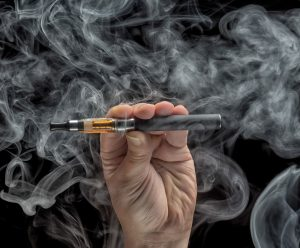 Despite health concerns, vaping is gaining popularity among young adults, according to state and national health officials. (Photo by 123rf.com)
