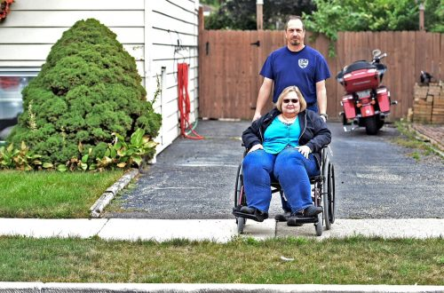 Disabled residents curbed off by Lyons street repairs