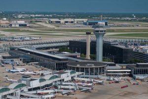 O'Hare International Airport . (Photo courtesy of U.S. Customs)