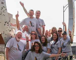 The Peoria Art Guild's Fine Art Fair committee has worked hard to organize this year's 54th annual fair, which takes place Saturday, Sept. 24, and Sunday, Sept. 25, at the Peoria riverfront. (Photo courtesy of the Peoria Art Guild)