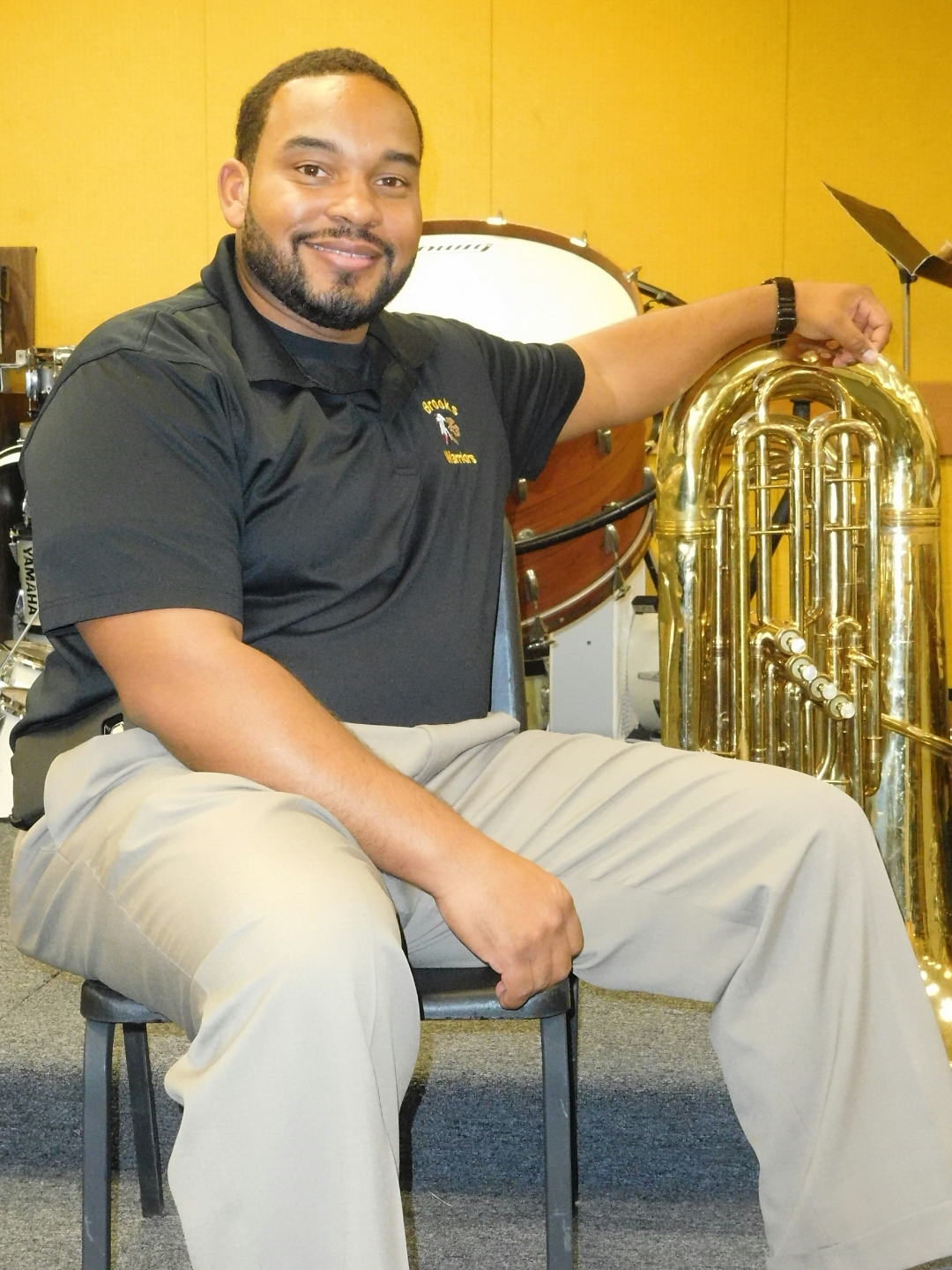 brooks band director is semifinalist for music educator