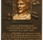 Hall of Famer Lou Boudreau had connections to both Indians and Cubs