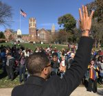 Oak Park rallies to protest bigotry, hate