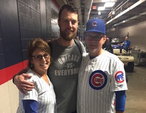e3ccd4ae354 Cubs  Zobrist celebrates World Series and MVP performance with family -  Chronicle Media