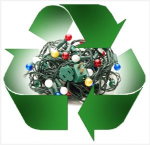 Unwanted Christmas lights can be recycled, thanks to the DeKalb County Health Department through Feb. 15, 2017. Residents can drop off their old holiday lights at a number of locations.