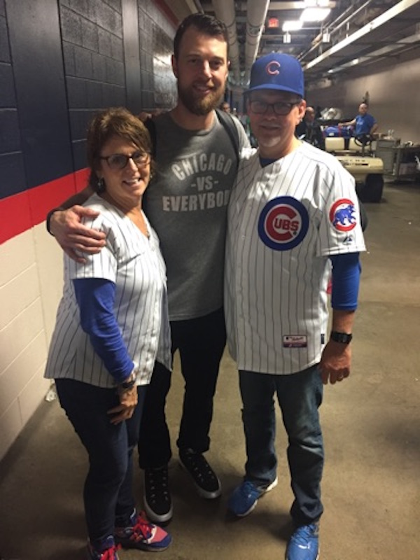 1138d75552f Cubs  Zobrist celebrates World Series and MVP performance with ...
