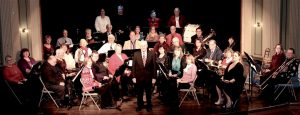 Indian Valley Community Band will present its 25th annual holiday concert at 1:30 pm on Sunday, Dec. 11, at the beautiful historic Opera House in Sandwich, 140 E. Railroad St. Built in the 1890's, the Opera House is on the National Register of Historic Places. There is no admission charge, but nonperishable food items or monetary donations will be gratefully accepted at the door. (Photo courtesy of Indian Valley Community Band