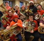 Musicians carry on a very tuba Christmas tradition