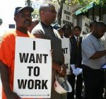 African-American unemployment rate soars in Illinois