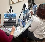 Therapeutic painting events in Peoria focuses on positive thoughts
