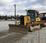 Cold doesn't slow construction at East Aurora