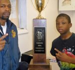 Twisters bring home Novice Division wrestling title trophy