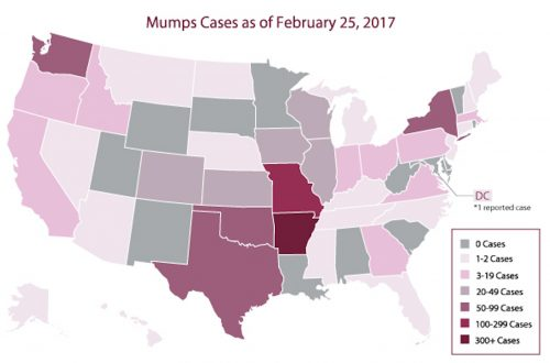 Mumps outbreaks in Lake and DeKalb counties