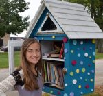 Morton librarian encourages literacy with Little Free Library movement