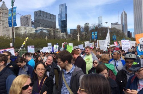 More than 40,000 come out to March for Science in Chicago