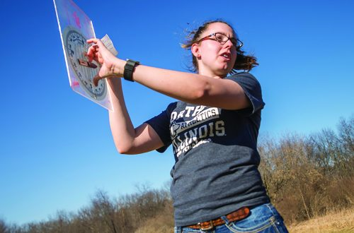 The great outdoors:  A visit to NIU's Lorado Taft campus is an education for both students and prospective teachers