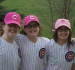 Oswego triplets to serve as Cubs' Bat Kids