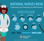 Scott AFB celebrates Nurses and Medical Technicians Week