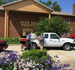 SIUE housing residents stock local food pantry