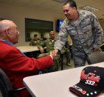 Tuskageee airman gets hero's welcome at Scott Air Base