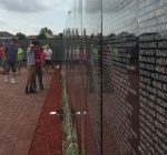 Vietnam Moving Wall brings thousands to Oswego