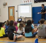 USAF Thunderbirds visit Scott Air Base Youth Center