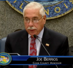 Berrios digs in during Cook County Board hearing on property assessments