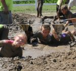 Kids get down and dirty to help St. Jude cancer fight