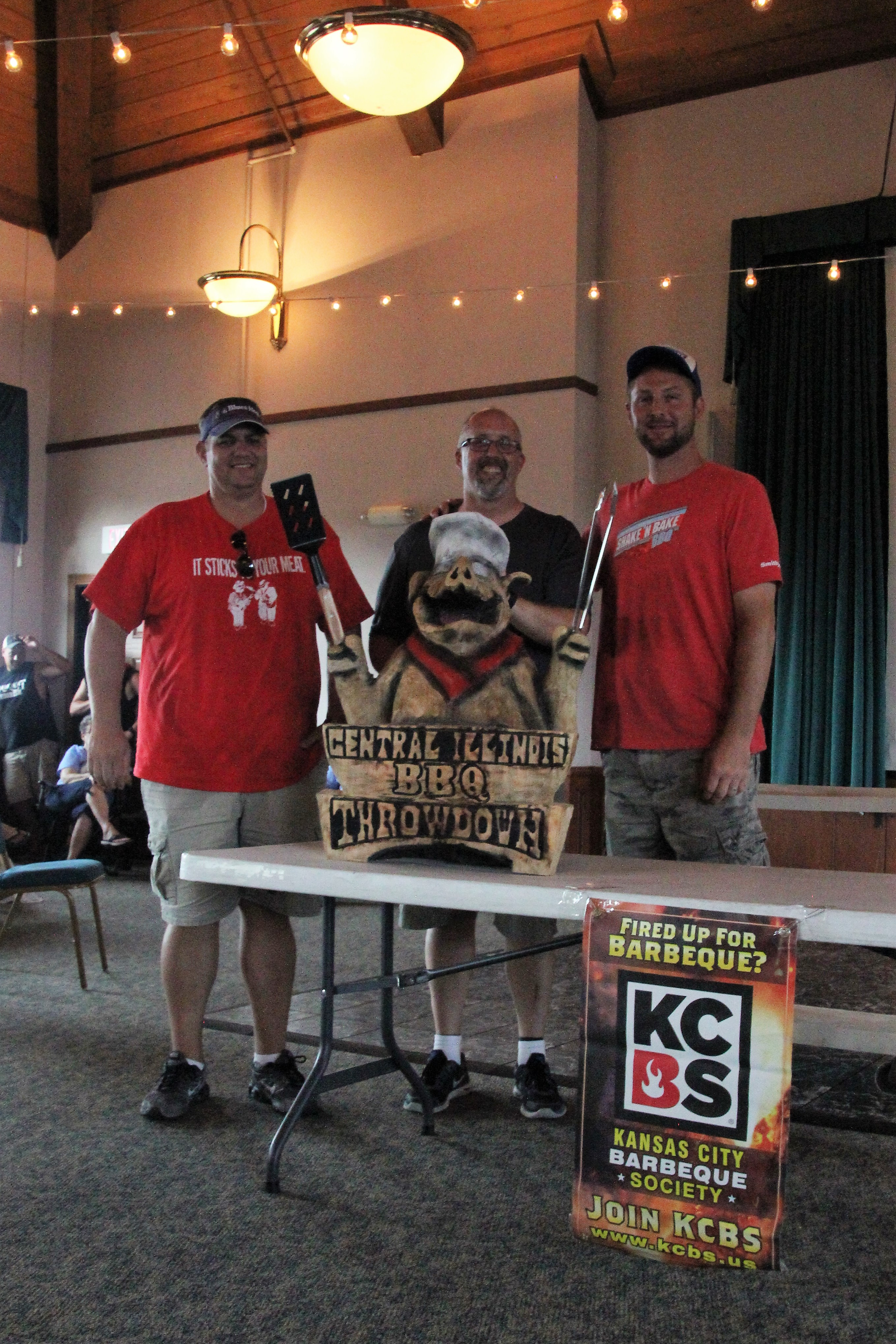 BBQ masters pete in Central Illinois Throwdown Chronicle Media