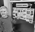 PRIME TIME WITH KIDS:  Create a weekly picture event calendar for preschoolers