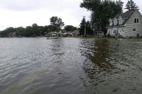 Record flood levels for Chain O' Lakes area
