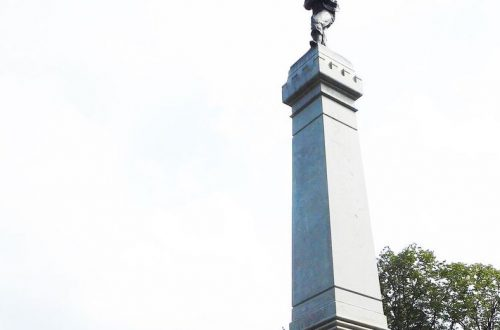 An unlikely memorial in Chicago to soldiers from the Confederacy