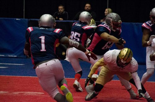 Bloomington's indoor football team puts community first