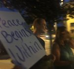Blue Lotus holds candlelight meditation and vigil supporting peace