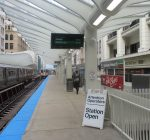 New Loop 'L' station opens as old station closes