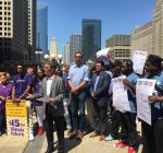 Labor fired up as Rauner defends veto of minimum wage hike