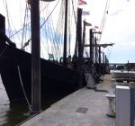 Columbus' ships sail into Peoria's riverfront