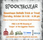 DeKalb County Calendar of Events Oct. 26 – 31