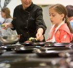 Students savor The Cookery school in Morton
