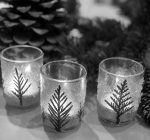 PRIME TIME WITH KIDS:Make 'pine tree' votive candleholders