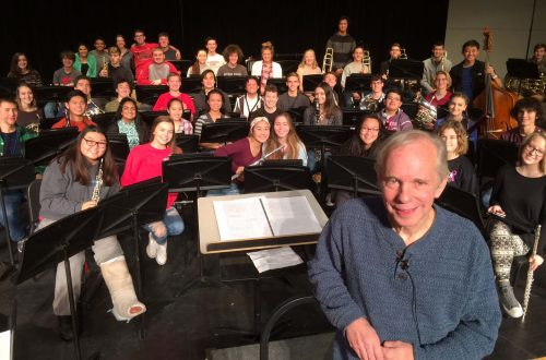 Composer premiers two works at MHS band concert