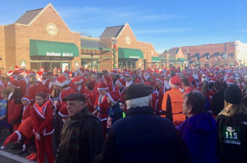 Many traditions start at Kiwanis Santa Run
