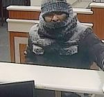 Chicago police track down bank robbery suspect