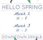 DeKalb County Calendar of Events Feb. 28 – March 6