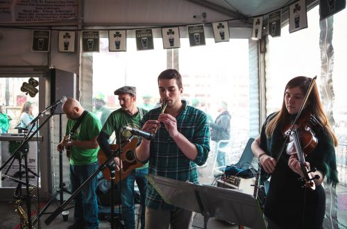 Yorkville going all day and night for St. Patrick's Day
