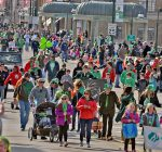 St. Charles draws big crowd in green for Irish parade
