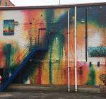 Artist faced plenty of challenges in creating Aurora's newest public art display
