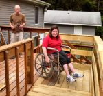 Organization seeks volunteers, funds to build wheelchair ramps