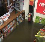 Remedial work on flood-damaged school underway